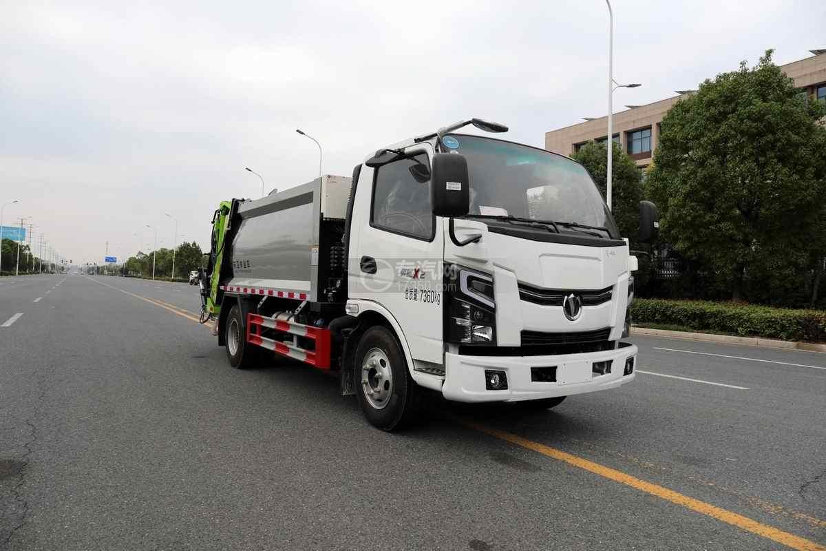 奧馳X2單排國六壓縮式垃圾車