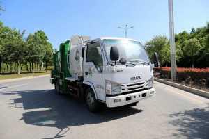 庆铃五十铃ELF国六餐厨式垃圾车图片