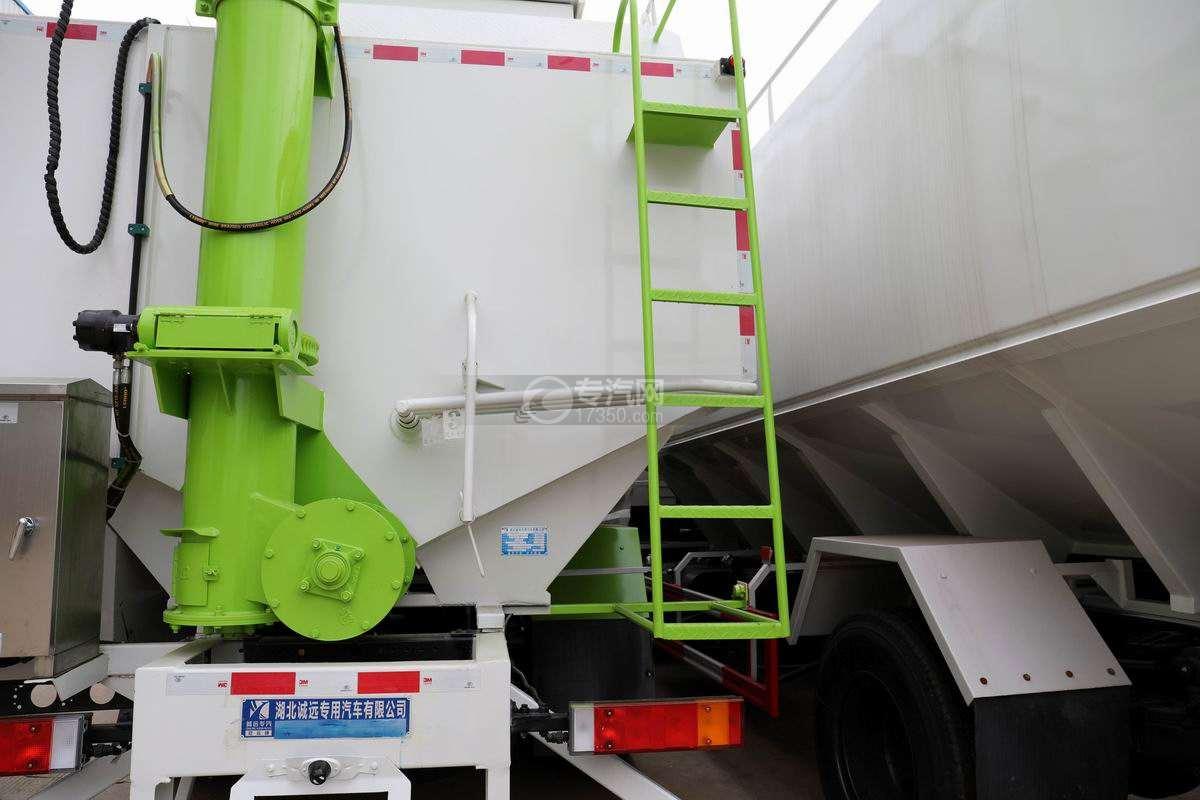 东风华神T5小三轴国六散装饲料运输车卸料操作杆