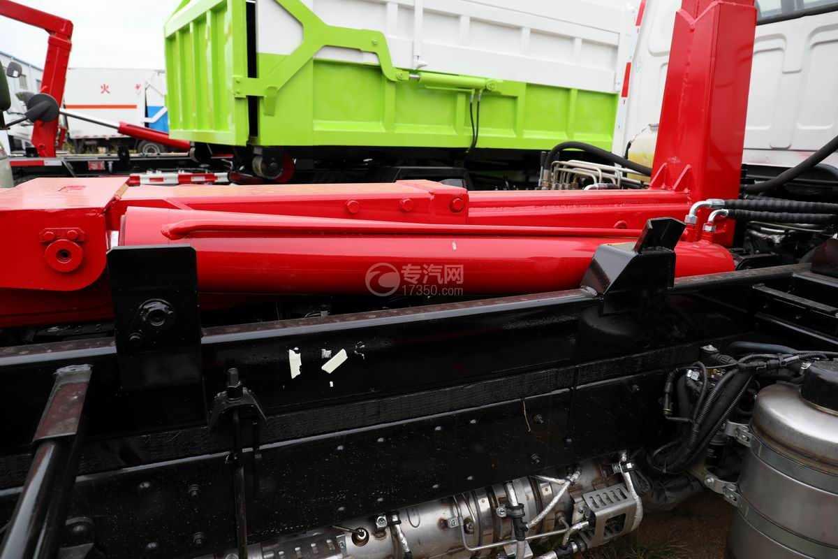一汽红塔解放霸玲国六车厢可卸式垃圾车液压油缸