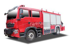 重汽豪沃TX后雙橋國六搶險救援消防車