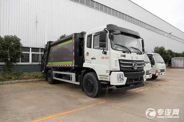 垃圾中轉運輸的14方東風錦程K6國六壓縮式垃圾車價格多少錢?