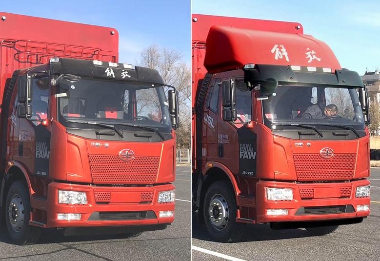 解放牌CA5310CCYP62K1L5T4E5型仓栅式运输车