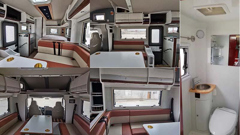 魯璽牌LXP5042XLJ型旅居車