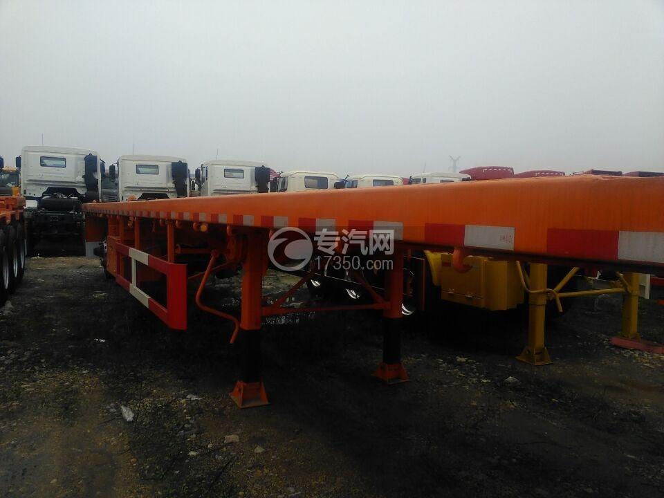 40英尺集装箱平板半挂车(中集)