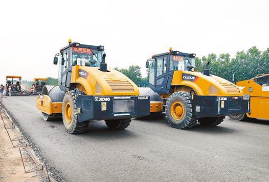 徐工成套路机助力270省道东南绕城公路建设