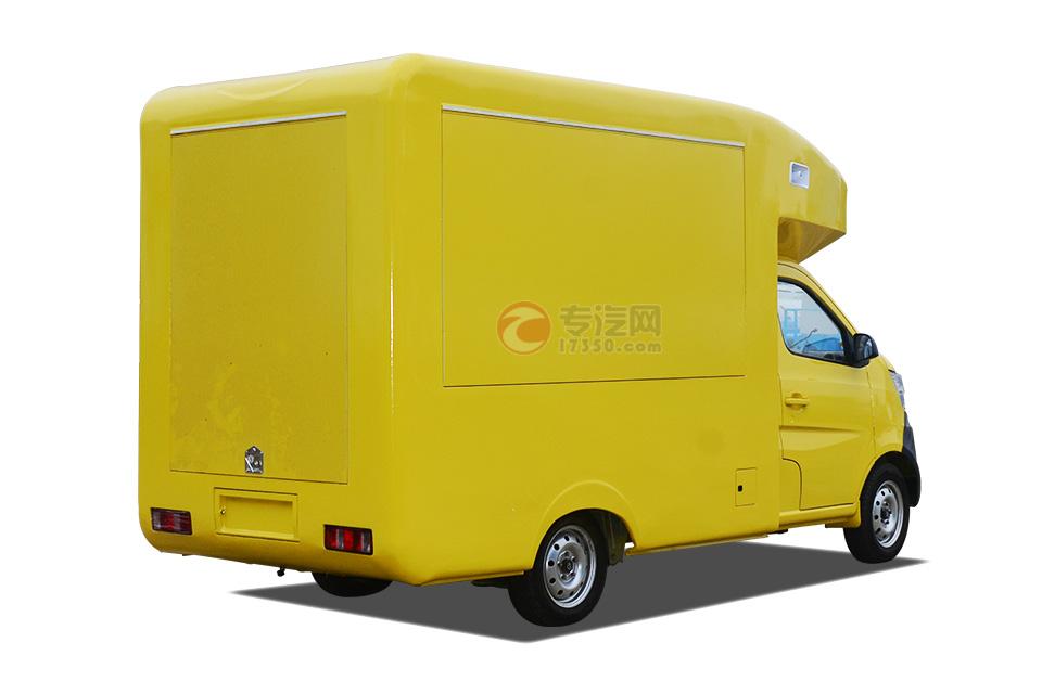 长安国五流动售货车右后方位图