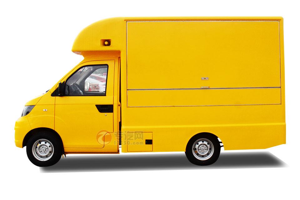 开瑞国五流动售货车方位图