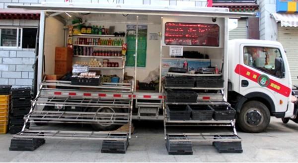移动蔬菜售卖车