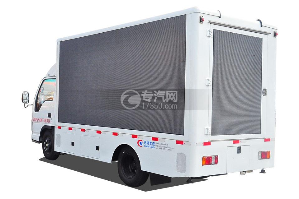 庆铃五十铃LED广告车方位图3