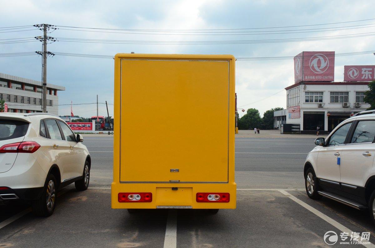 开瑞流动售货车后面图