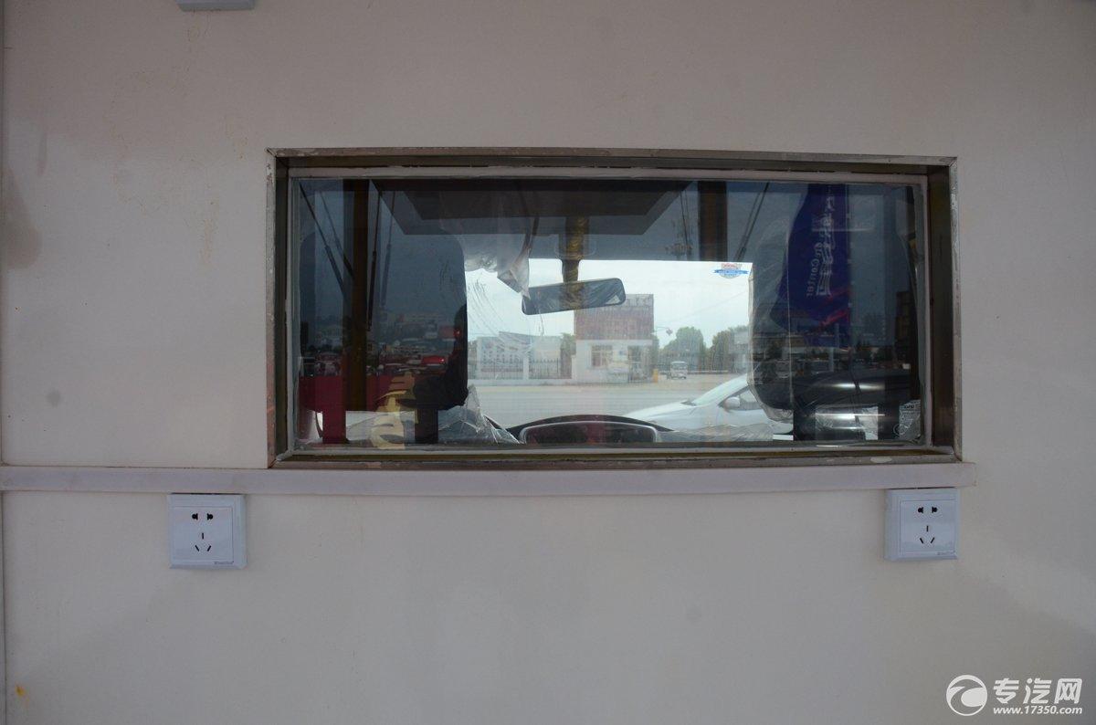 开瑞流动售货车货厢跟驾驶室间玻璃窗