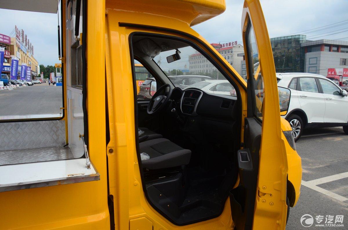开瑞流动售货车驾驶室焊接工艺