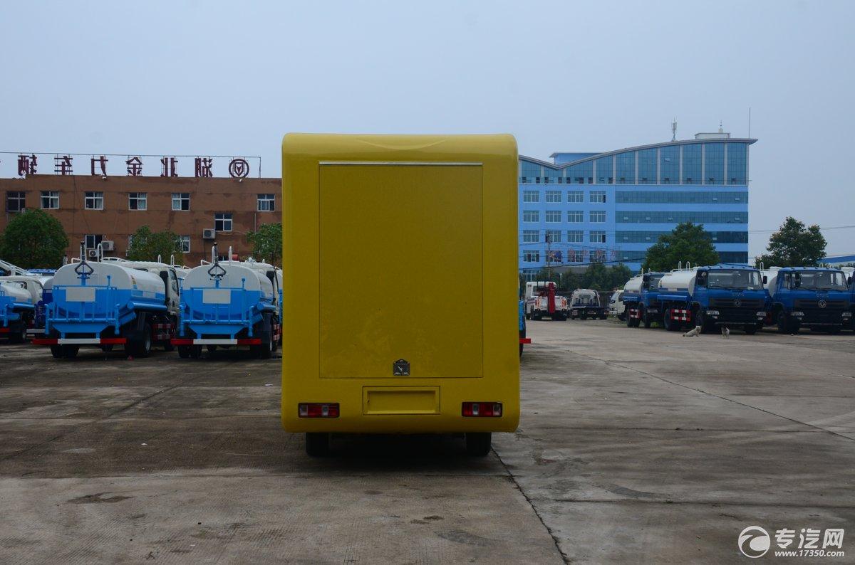 长安流动售货车后面图