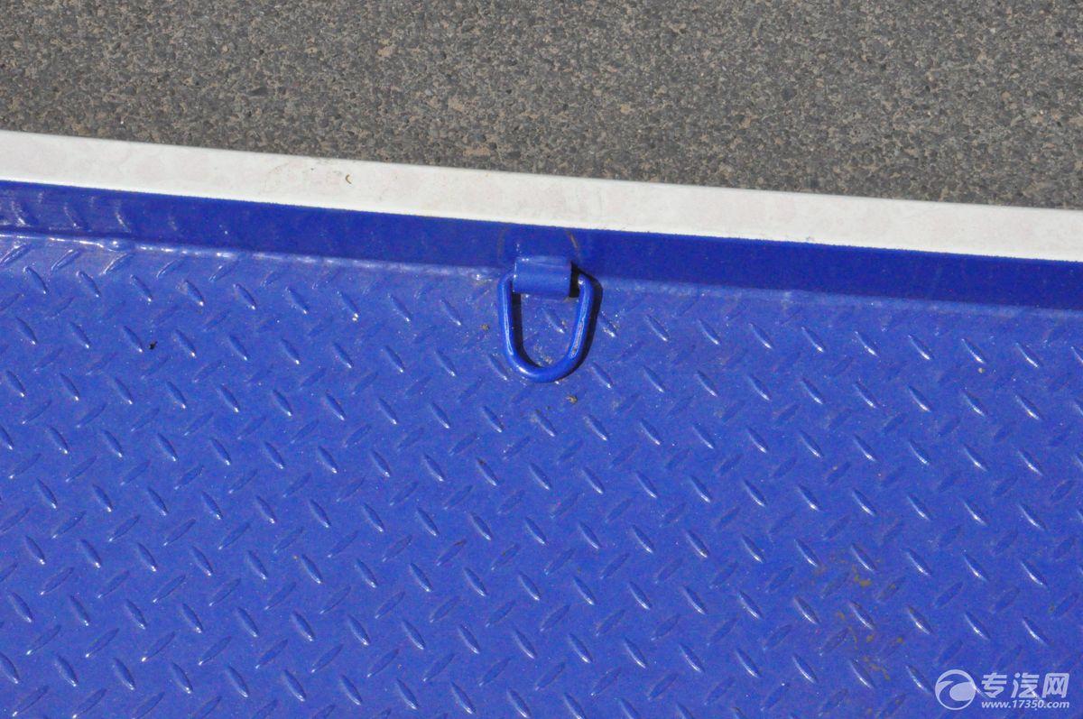 解放J6一拖二清障车地板扣