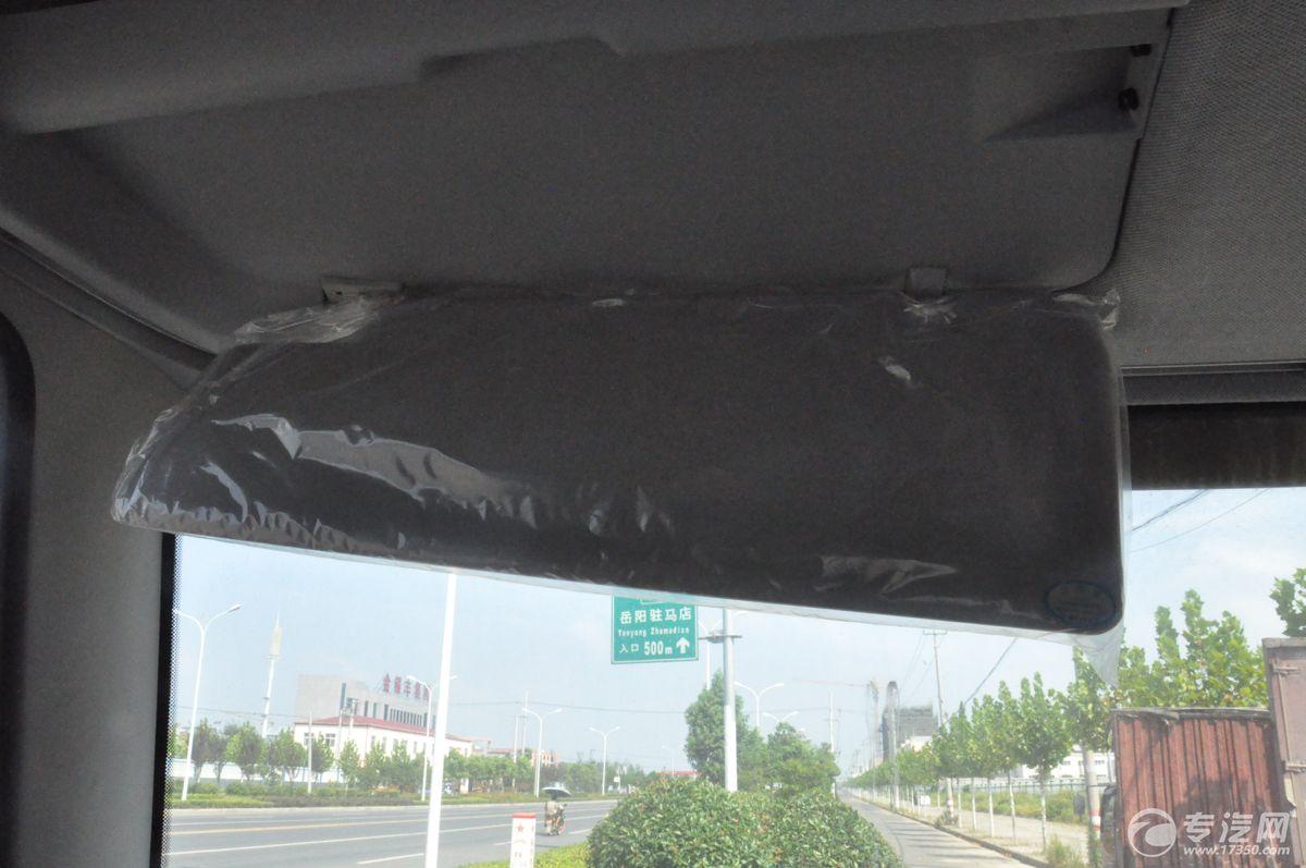 解放J6一拖二清障车挡阳板