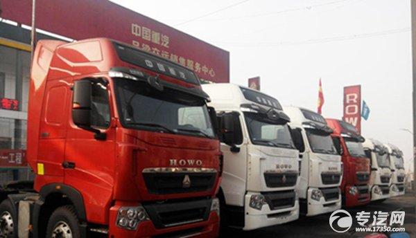 中国重汽6X2-T7H产品