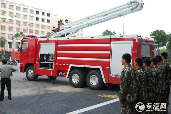 徐州斥资千万购置7辆消防车 全面提升冬季消防