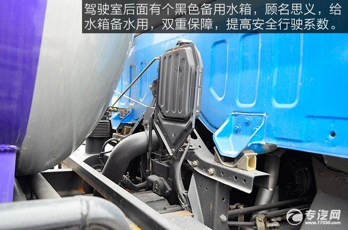 东风153吸污车备用水箱