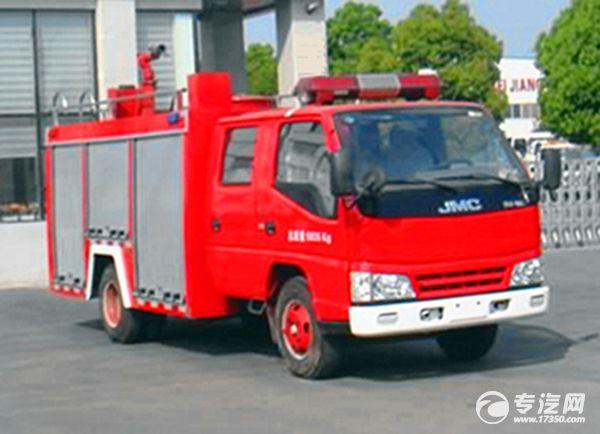 厂家直销 五十铃2吨水罐消防车促销