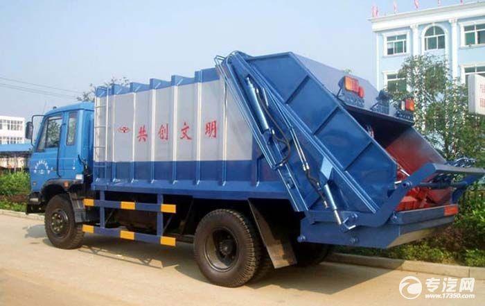 徐工61台自卸式垃圾车 在陕西省成功交付