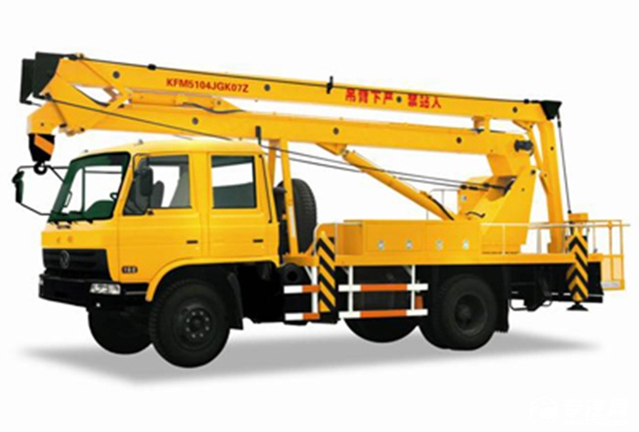 高空作业车购车导航 20米折臂式与伸缩臂式的选择