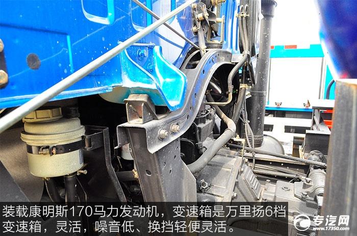 东风145洒水车发动机