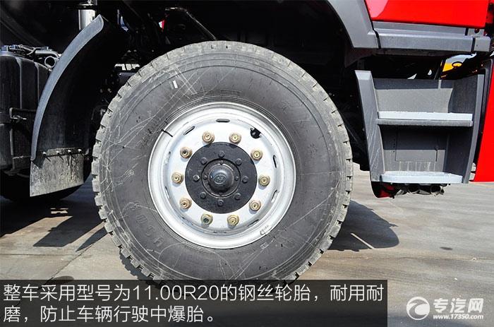 解放新悍威8x2油罐车11.00R20轮胎