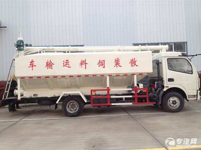 散装饲料运输车打开国际市场 好评如潮