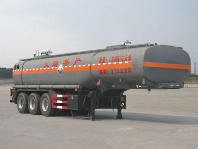 28方腐蚀性物品罐式运输半挂车
