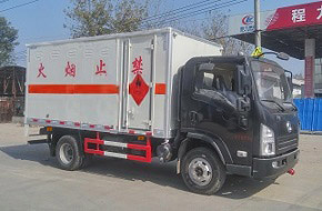 陕汽单桥爆破器材运输车