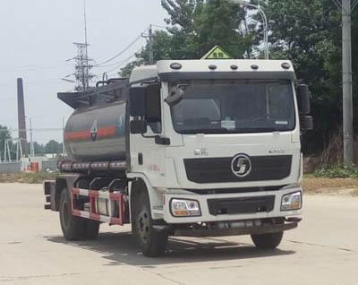 陕汽腐蚀性物品罐式运输车