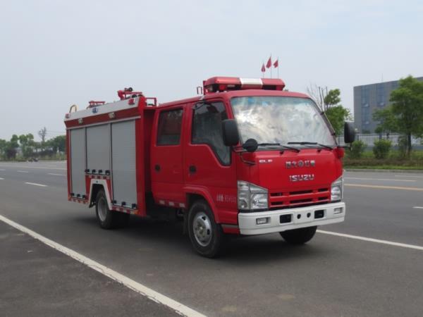 庆铃2方Q型水罐消防车