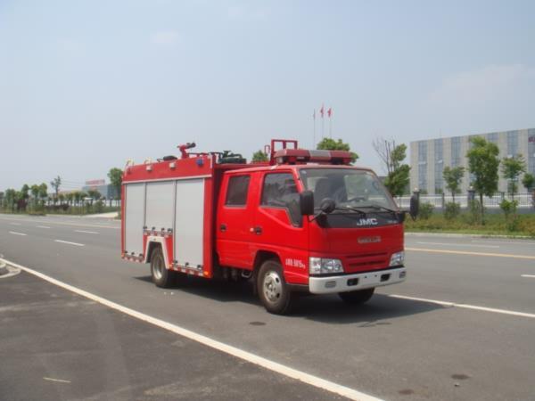 江铃2方水罐消防车