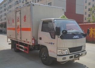 江铃蓝牌爆破器材运输车