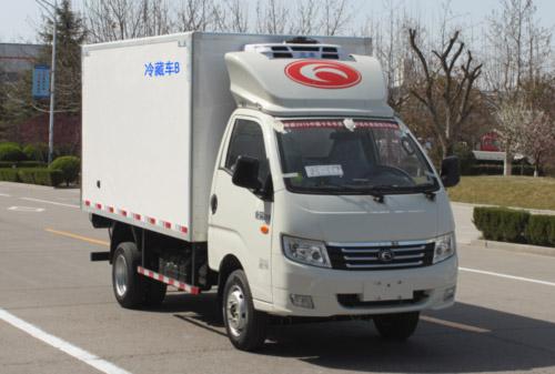 康瑞KQ1汽油版冷藏车(厢长3.5米)