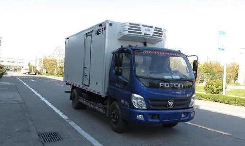 福田奥铃冷藏车(厢长5.07米)